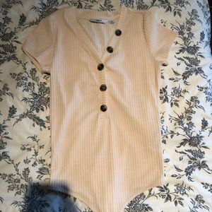 womens small bodysuit with buttons